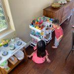Kids Art Cart, Storage System, dan Organization Tips Tentang Betty