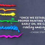 Cassie Stephens: Tips Penting Melukis Bersama Anak