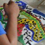 Seni untuk Anak-anak dengan Tantangan Fisik maupun Mental