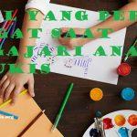 15 Hal yang Perlu Diingat Saat Mengajari Anak Melukis