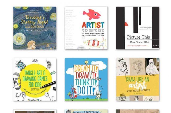 24 Buku Seni Luar Biasa untuk Anak-Anak