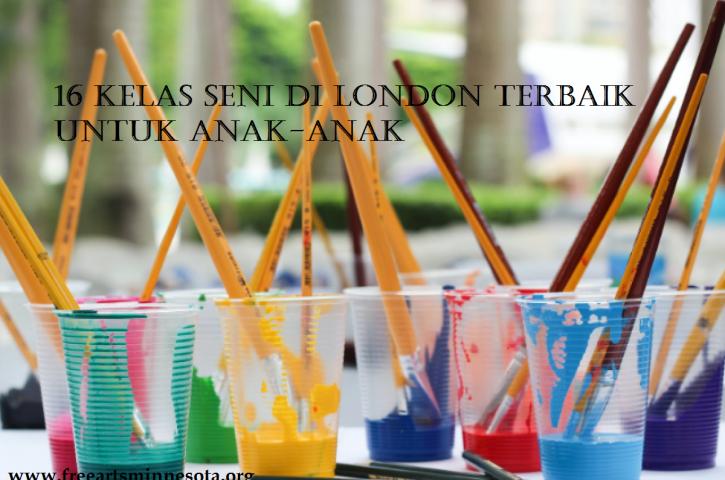 16 Kelas Seni di London Terbaik Untuk Anak-Anak